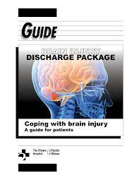 Coping with brain injury - A guide for patients
